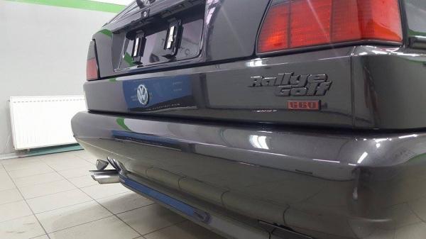 Golf Mk II rallye G60 - korekta lakieru + wosk + detailing wnętrza