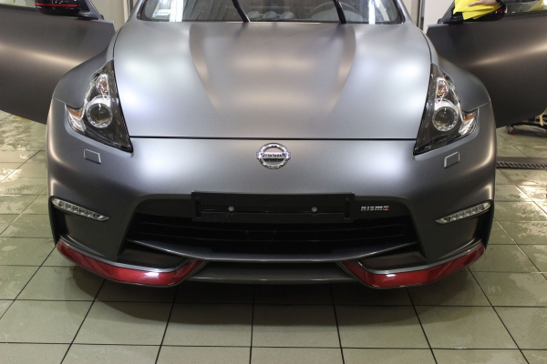 Nissan 370Z NISMO - zmiana koloru + korekta lakieru + powłoka 12-miesięczna