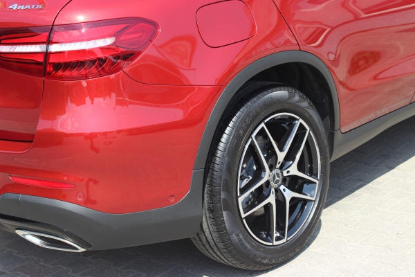 Mercedes GLC - 3-letnia powłoka ceramiczna + folia ochronna