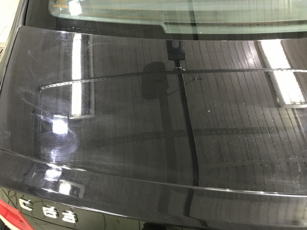MERCEDES C63 AMG -  korekta lakieru + Quick detailer