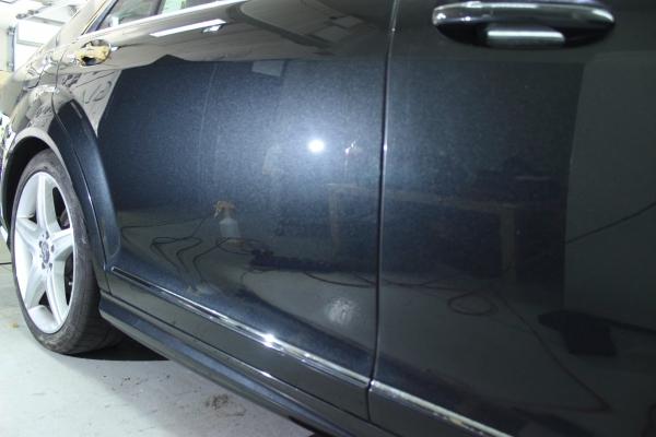 Mercedes S-classe - wieletapowa korekta lakieru + 3-letnia powłoka ceramiczna