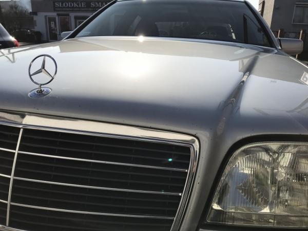 Mercedes W140 - korekta lakieru + aplikacja wosku