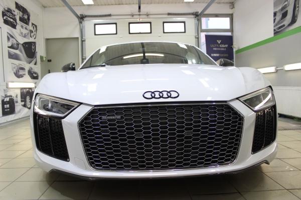 Audi R8 V10 - zmiana koloru + powłoka 12-miesięczna