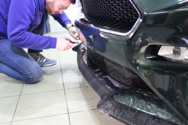 Ford Mustang Bullitt - folia ochronna + powłoka ceramiczna + przyciemnienie szyb + zabezpieczenie felg