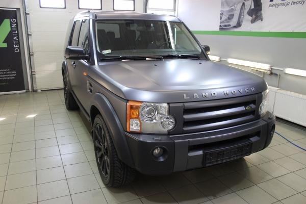 Land Rover Discovery - zmiana koloru samochodu