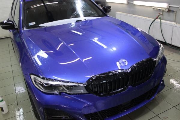 BMW 3 Touring - aplikacja 5-letniej powłoki ceramicznej + folia ochronna