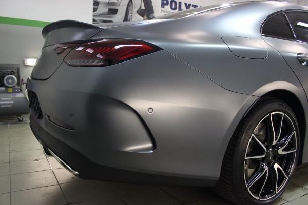 Mercedes CLS - zmiana koloru