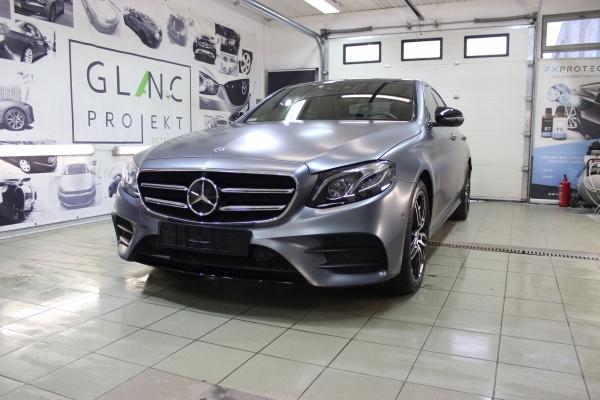 Mercedes E-Klassa - zmiana koloru
