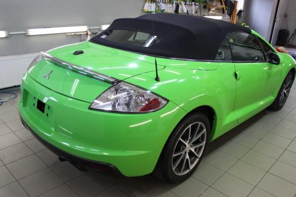 Mitsubishi Eclipse - zmiana koloru