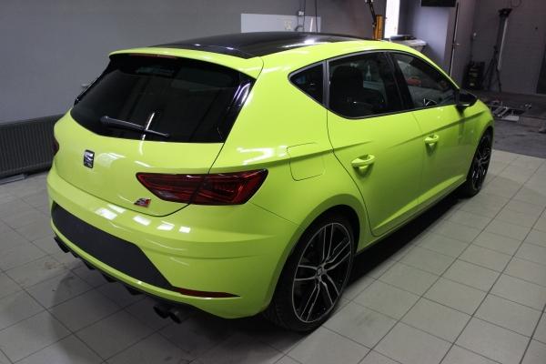 Seat Leon Cupra - zmiana koloru