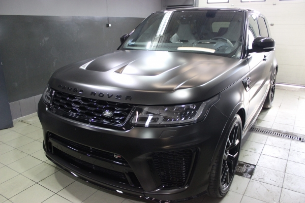 Range Rover SVR - zmiana koloru