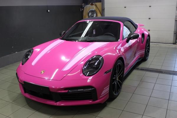 Porsche 911 Turbo S - zmiana koloru