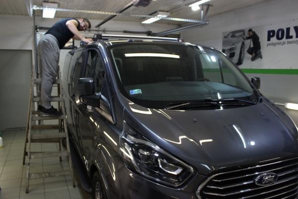 Ford Custom - folia ochronna + powłoka ceramiczna 5-letnia