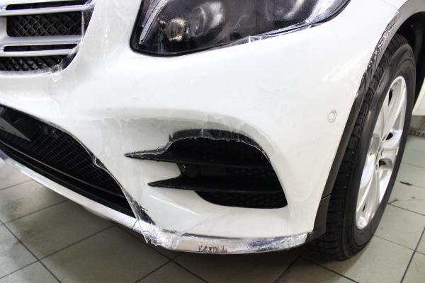 Mercedes GLC SUV - folia ochronna + powłoka ceramiczna 5-letnia