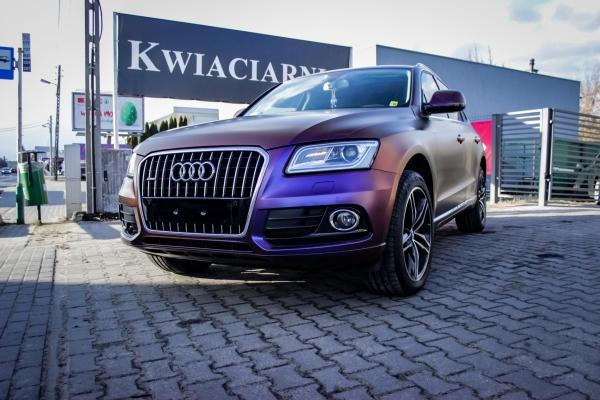 Audi Q5 - zmiana koloru