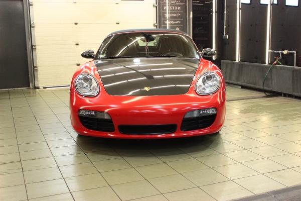 Porsche Boxster S 987- zmiana koloru